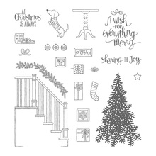 Christmas decoration home Transparent clear Stamp rubber seal for DIY Scrapbooking/Card Making/ Decoration Supplies(China)