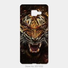 For Samsung Galaxy 2017 A5 A7 A3 J7 J5 J3 case hard PC High quality printing picture Raging tiger phone cases