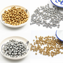 Silver/Gold 6. 8 . 10. mm Wooden Beads Jewelry Findings Making Spacer Beading Wood Beads For Kids Toys & Pacifier Clip