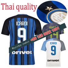 2017 2018 Inter Milan jersey 17 18 Home Away football camisetas Thai AAA shirt survetement football Soccer jersey