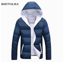 BSETHLRA 2017 New Parka Jackets Men Winter New Casual Mens Coats Thicken Windbreak Cotton Quality Outwear Fashion Brand Clothing(China)