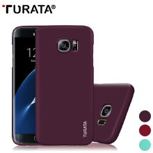 TURATA Ultra Slim Phone Case for Samsung Galaxy S7 Edge [Not for S7]Smooth Surface Hard Plastic Full Protection Back Cover Cases(China)