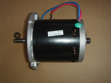 DC12-24V 400W 1800-3500 rpm micro permanent magnet DC motor, four brushes, lawn mower motors, power tools / DIY Accessories