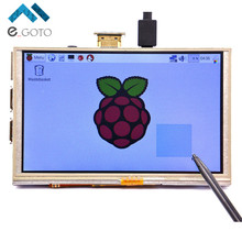 5 inch LCD Touch Screen Display Panel Module HDMI 800*480 Board Raspberry Pi A+/B+/2B - e_goto Processors Store store