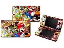 Super Mario Kart Vinyl Skin Sticker Protector for Nintendo DSI XL LL for NDSI XL LL Skins Stickers