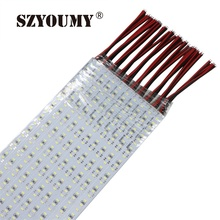 SZYOUMY LED Bar Light SMD 4014 12V Led Rigid Strip 144 LEDS/m White Cold Under Cabinet 100PCS(China)