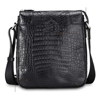 Gete new crocodile male bag shoulder bag inclined  korea edition tide leisure business men bags