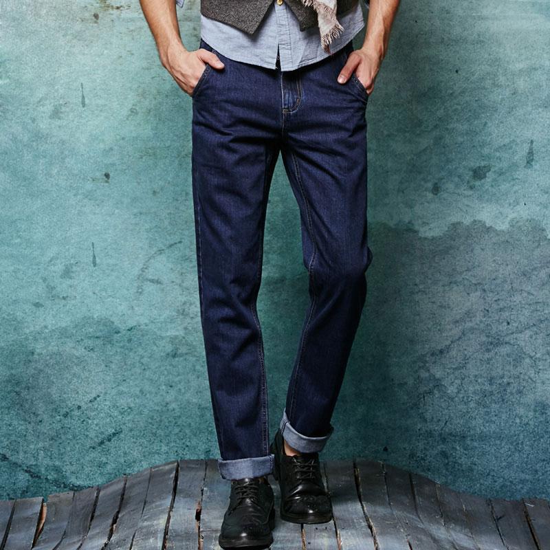 New Men Slim Straight Locomotive Jeans Denim Jeans Cowboy Fashion Business Designer Famous Brand Mens Jeans Trousers Pant 29-36Îäåæäà è àêñåññóàðû<br><br>