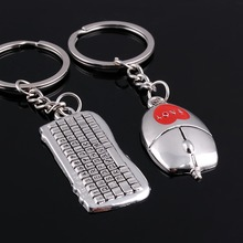 Keyboard Mouse Key Chain - 1pcs Mouse Keychain+1pcs Keyboard Key Chain Keyring Valentine Lover Key  17031