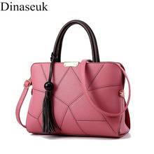 Dinaseuk Brand New Handbags PU Leather Top Handle Purse For Women Ladies Girl Shoulder Bag Crossbody Cube Designer Hand Bags