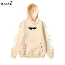 Justin Bieber Purpose Tour Hoodies 2017 Men's Hoodie and Sweatshirt Hip Hop Hoodie for Men's Clothing Justin Bieber Purpose Tour(China)