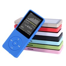8GB Ultrathin MP3 Player With 1.8 Inch Screen Can Play 50H With FM E-Book Clock Data(China)