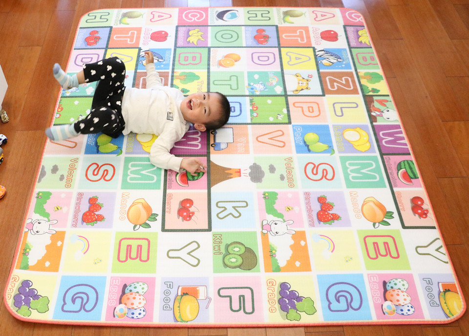 10 mm Thick Double Sides Children Play Mat Waterproof Kids Beach Picnic Mat Soft Eva Foam Carpet Rug Baby Crawling Mat Baby Toy 54