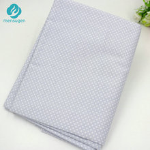 160cm*50cm Grey with White Dots Cotton Fabric for Home Textile Cushions Sewing Baby Quilts Fabric Home Decoration Material