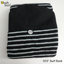 Surfing Surfboard Sock Cover Good Quality 6ft-10ft Quick-dry Surfboard Sock Knit Surf Sock Stretch terry surfboard sock