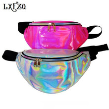 holographic fanny pack laser Waist Packs heuptas hip bag Women's waistband Banana Waist Bags Waist bag women bolso cintura