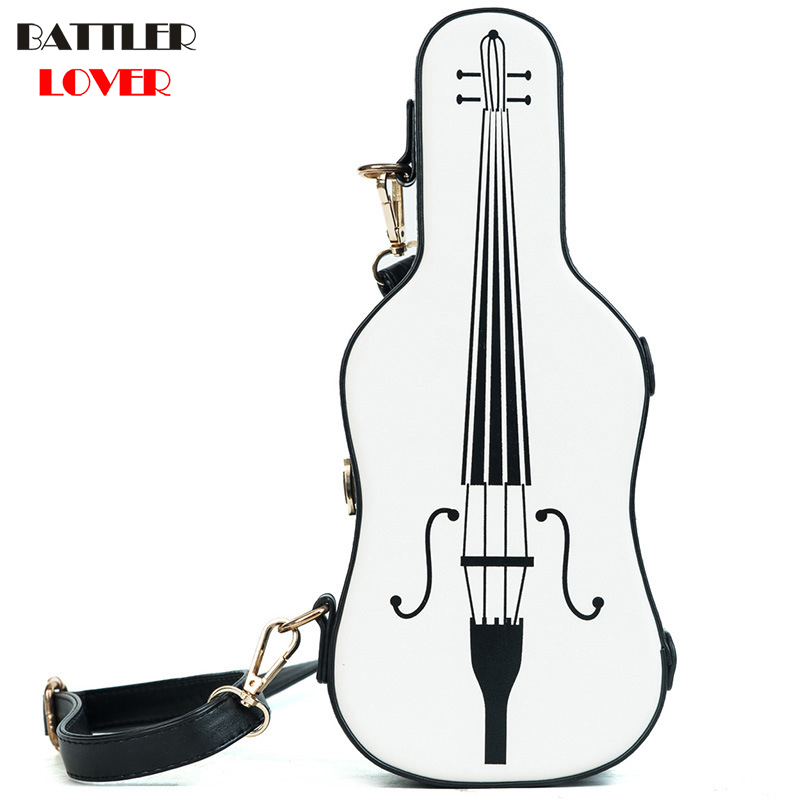 Violin Shaped Bag Womens Handbags Crossbody Bags Girl Shoulder Messenger Bag Woman Mujer Handbag for Women 2018