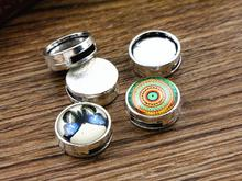 16pcs 12mm Inner Size Antique Silver Fashion Style Cabochon Base Cameo Setting Charms Pendant (A2-33)