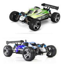 Lynrc A959 RC Car 2.4G Radio Remote Control Model Scale 1:18 Rally Shockproof Rubber wheels Buggy Highspeed Off-Road(China)