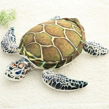 Plush Ocean Sea Turtle Toys Soft Cute Pillow Super Soft Stuffed Animal Turtle Dolls Best Gifts for Kids Friend Baby 18.5''(China)
