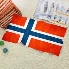 Norway Flags  Beach towel Fast Drying Compact Travel Sports Camping Swiming Beach Bath Towel Sports