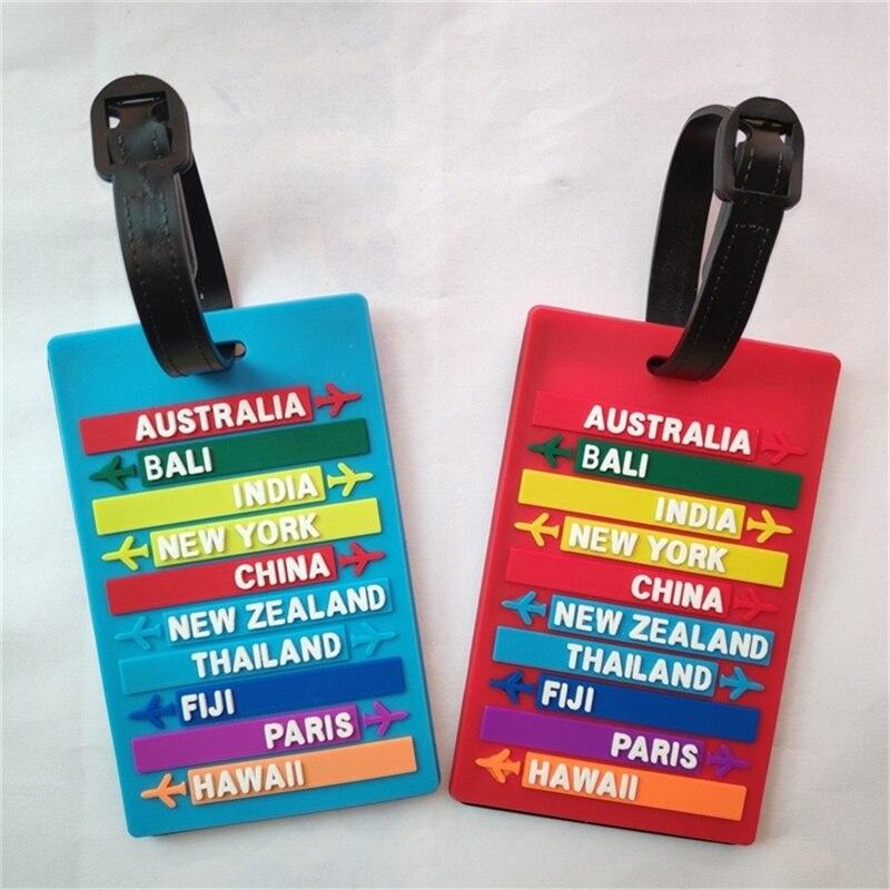 Etiqueta para equipaje
