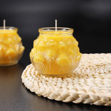Butter Lamp Candles Lotus Shape 2 Pieces Per Pack With About 3 Days / 72 Hours Burning Daily Use Or Buddha Worship Supply(China)