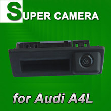 Car rear view parking reverse back up car camera for new AUDI A4L VW Touran handle trunk waterproof night vision HD(China)