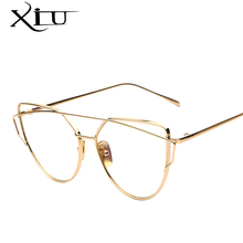 2017 NEW Fashion Sunglasses Women Brand Designer Metal Frame Sun glasses Vintage Mirror Shades Glasses S904