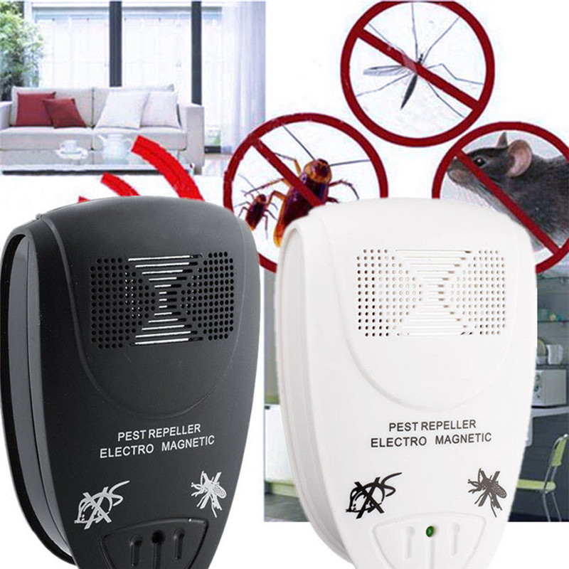 US/EU Plug Electronic Ultrasonic Rat Mouse Repellent Anti Mosquito Repeller Killer Rodent Pest Bug Reject Mole Mice(China)