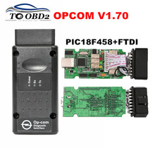Newest Firmware V1.70 V1.65 OPCOM PIC18F458&FTDI More Stable Than V1.59/V1.45 OP COM For Opel Flash FW Update OP-COM V1.70