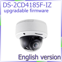 Free shipping English Version DS-2CD4185F-IZ 8MP 4K Smart Indoor Dome Camera with  Motorized lens with Smart Focus