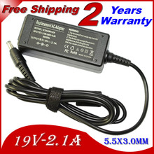 JIGU 19V 2.1A 5.5*3.0MM 40W Replacement For Samsung Q1 Q30 R19 R20 AD-6019 915S3G 905S3G Laptop AC Charger Power Adapter