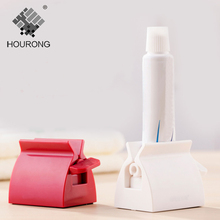 1Pc Multifunction Manual Rotate Toothpaste Squeezer Plastic Bath Dispenser Bathroom Accessories Sets Products(China)