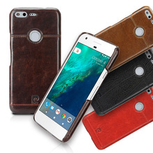 Pierre Cardin Genuine Leather For Google Pixel Protective Case Back Cover For Google Pixel XL Phone Case Pouch Discount Price(China)