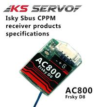 RCMOY 2.4Ghz 7ch Receiver FrSky D8 AC800 CPPM SBUS Telemetry Receiver for X9D Plus X12S X9E Indoor FPV Racing Quad Tiny 90 125mm(China)
