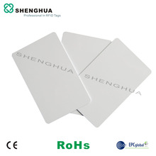 50pcs/lot 915MHz UHF RFID Cards Alien h3 RFID Label Proximity ID Cards Vehicle Car Tracking For Access Control System(China)