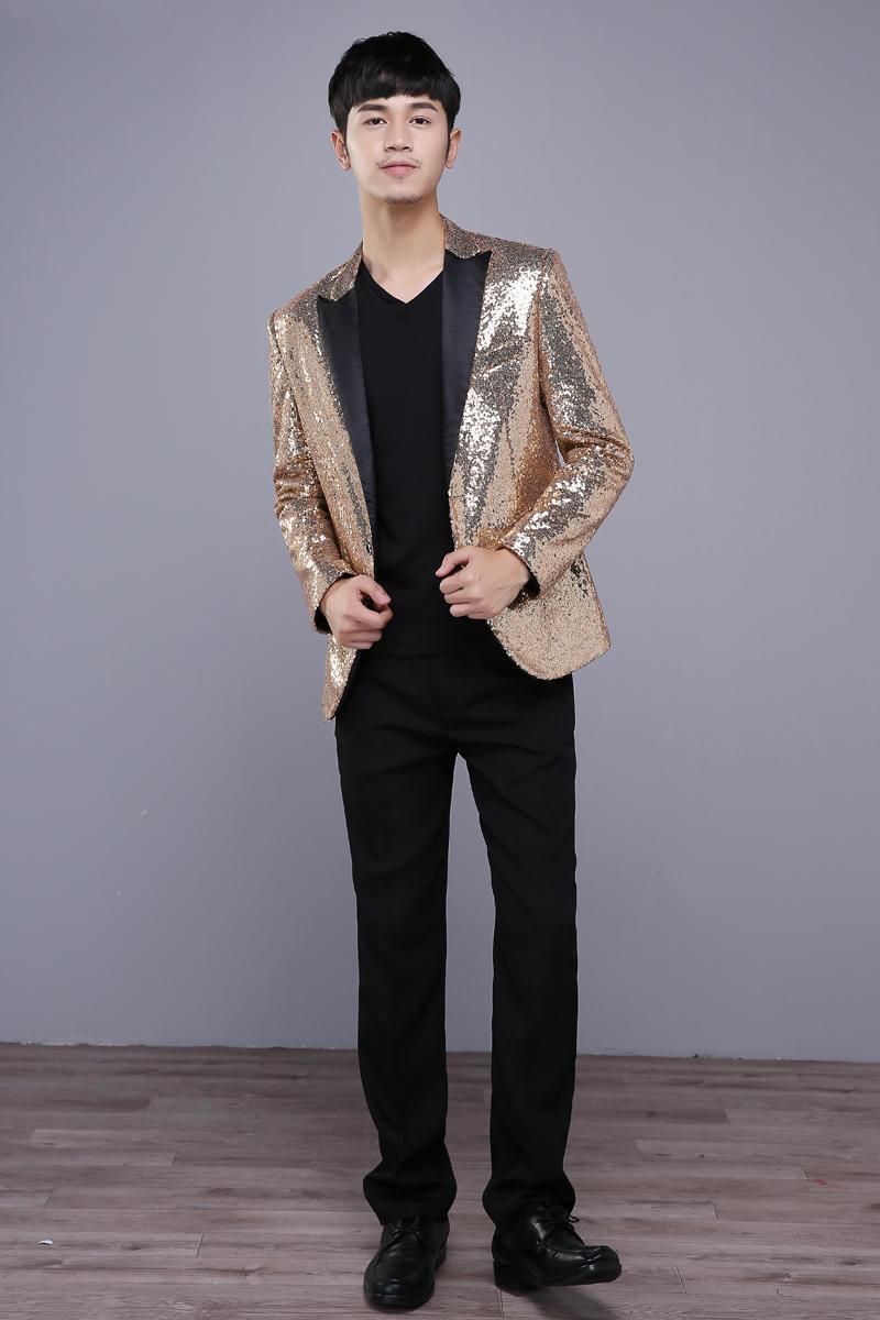 HTB12CeCSVXXXXblXVXXq6xXFXXXs - gold men costumes singer dancer jacket blazer Male formal dress men's clothing paillette costume party show fashion prom groom