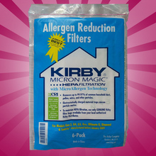 6 CLOTH Sentria Hepa Micron Magic U G Kirby Vacuum Bags NEW OEM SEALED PRODUCT!!