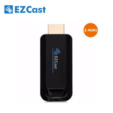 2.4G EZCast Dongle Miracast Smart Box DLNA HDMI Mirror TV Dongle TV Stick Airplay Media Player For IOS Windows Android Tablet Pc