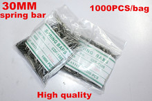 Wholesale 1000PCS / bag High quality watch repair tools & kits 30MM  spring bar watch repair parts -041419