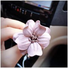Auto Parts Rose Flower Fragrance Export Folders Aromatherapy Car Decorative Air Freshener, Pink(China)