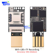 Smallest ZX618 PCBA Wifi LBS GSM Tracker Positioning TF card Voice Recording Indoor Accuarcy 10m Mini 20*13mm Voice Monitoring