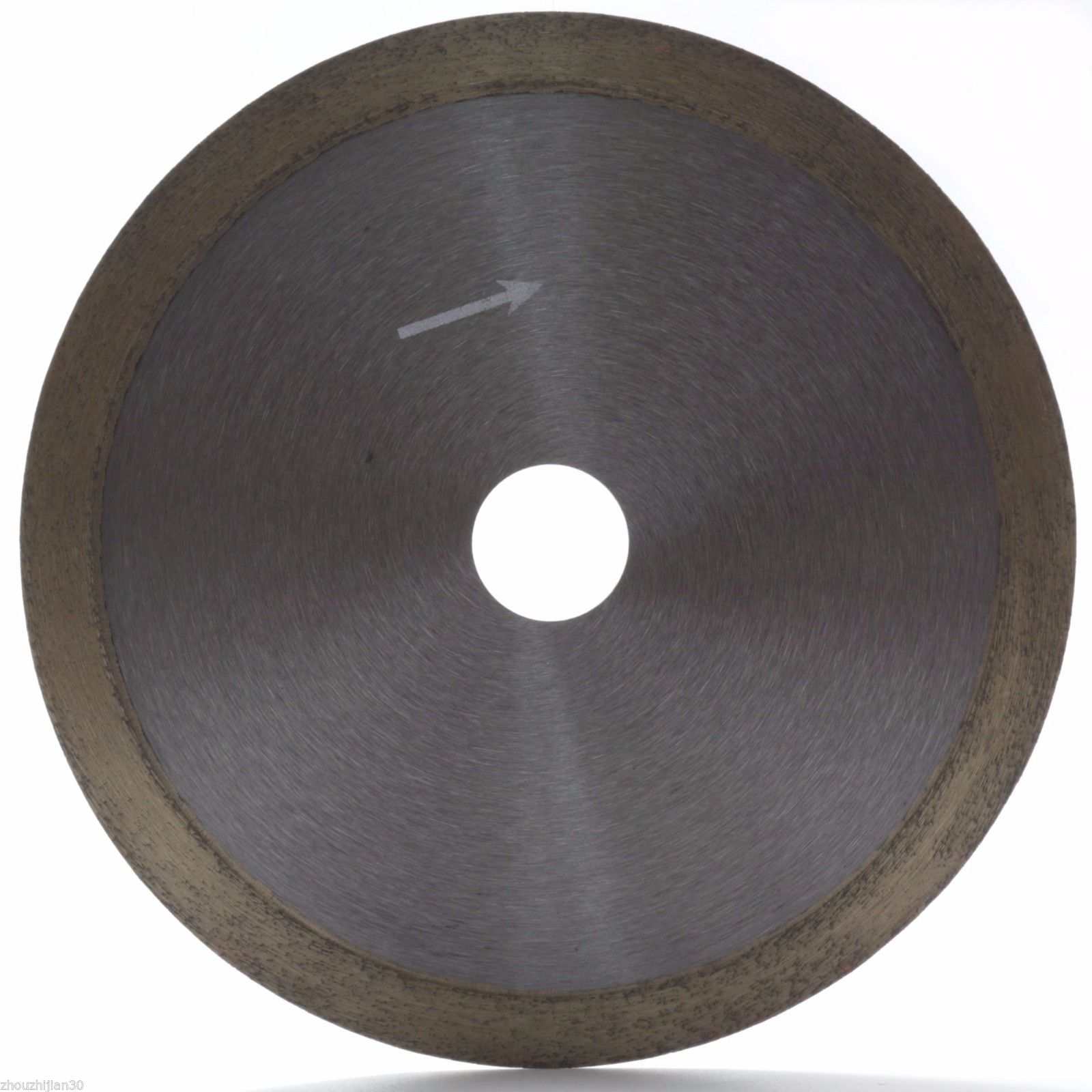 6 inch Sintered Diamond Blade Saw Wet Cutting Glass Continuous Rim Arbor 7/8 ILOVETOOL<br>