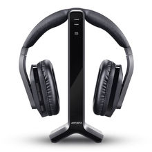 Artiste D1 Wireless TV Headphone with 2.4GHz Digital Transmitter Charging Dock Multiple Headset Connected Cordless For TV Radio