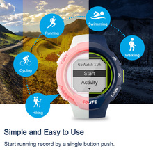 GOLiFE GoWatch 110i Outdoor Running Cycling GPS Smart Sports Watch 5ATM Water Resistant Compass Activity Tracker Equipment