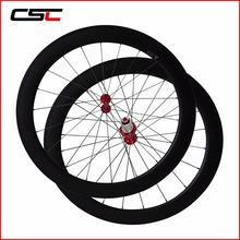 Free Shipping 1420g/Pair 700C Road Carbon Wheels 60mm Tubular Road Carbon Wheelset 23mm Width Wheels