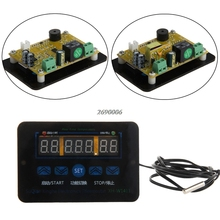 (OOTDTY) 12/220V 10A Digital LED Temperature Thermostat Control Switch Sensor Probe APR11_25
