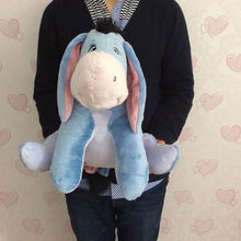 Free shipping Sitting 35cm=13.8'' Original Donkey Eeyore Soft Plush Stuffed Animal Toys Dolls Birthday gifts for baby(China)