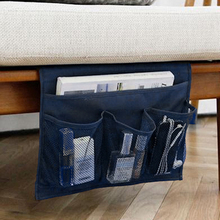 HIPSTEEN Hanging Storage Bag Multifunctional Sundries Storage Side Pocket Sofa Bed Table Sundries Magazines Hanging Storage Bag